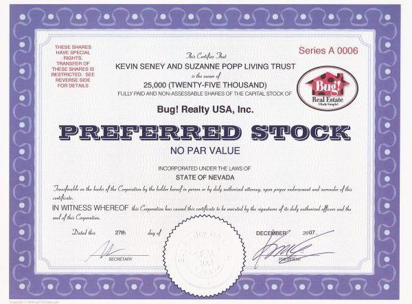 contoh saham preferen (produk pasar modal)